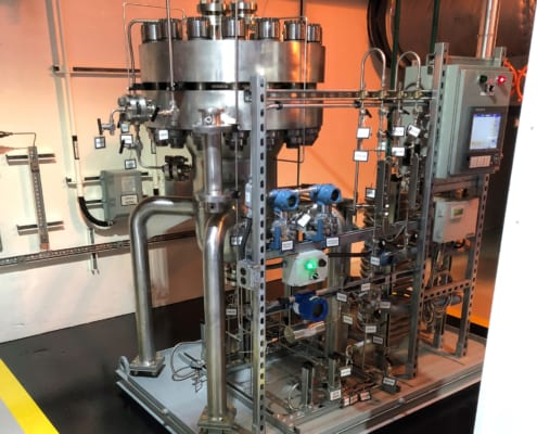 Structural Integrity Associates | Continuous Noble Metal Injection (CNMI) Skid NMP2