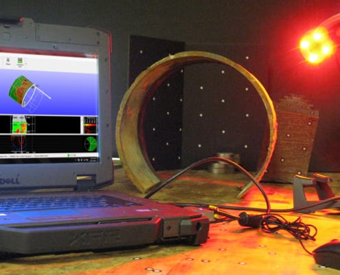 Structural Integrity Associates | Non-destructive Testing (NDT) - 3D Laser Profilometry Pit Gauge Measurment 2