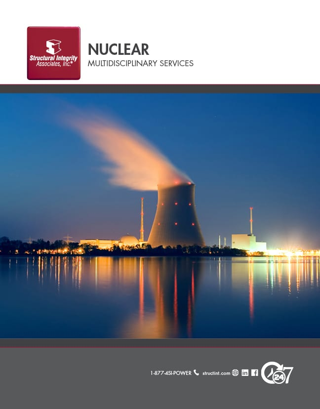 Structural Integrity Associates | Nuclear Multidisciplinary Services