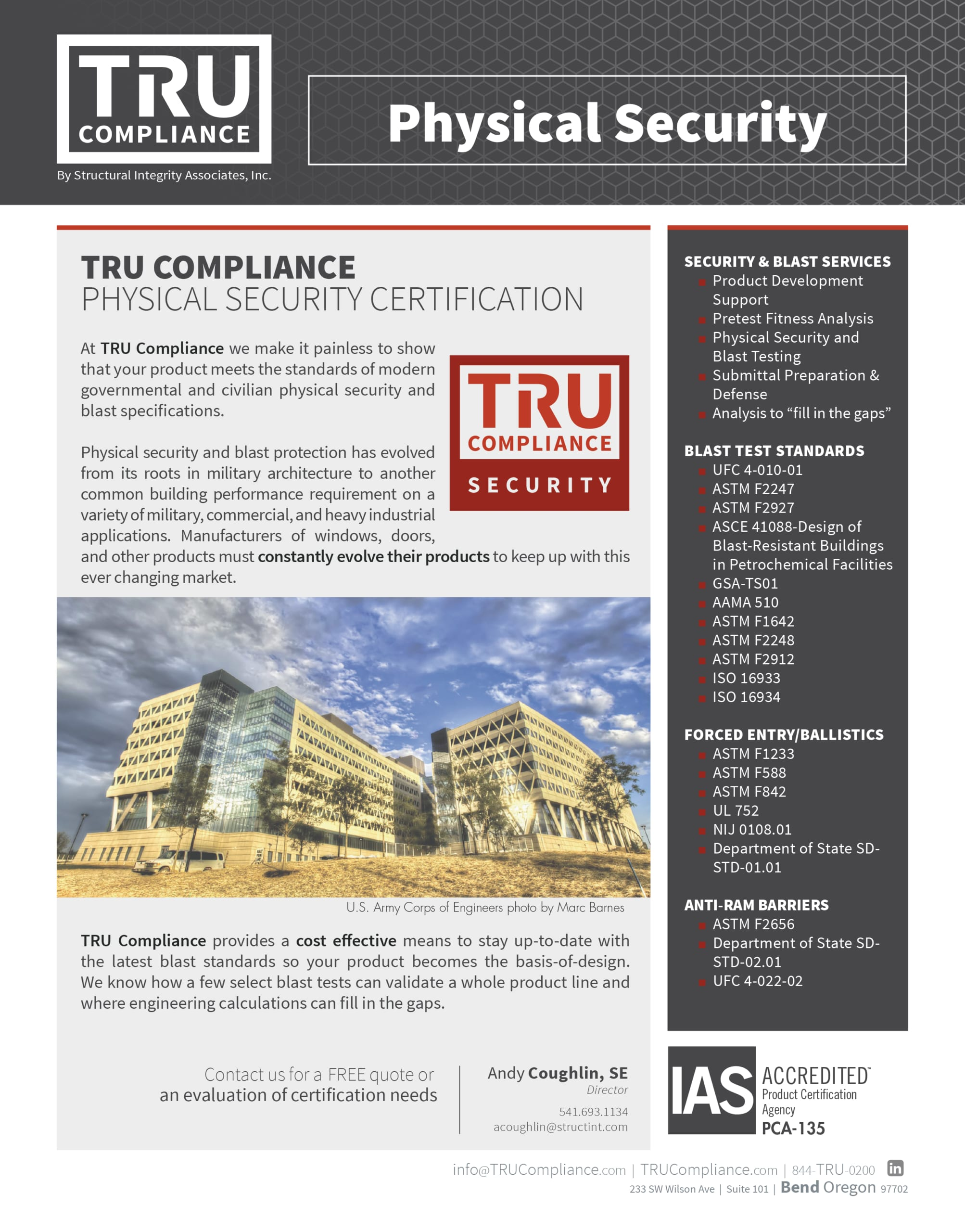 TRU Compliance | Physical Security Certification